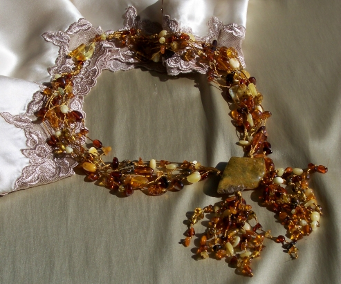 Amber Necklace ANECK09
