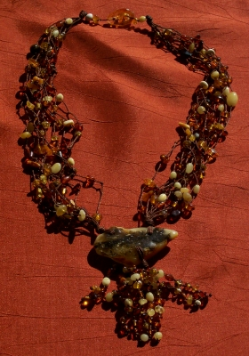 Amber Necklace ANECK10
