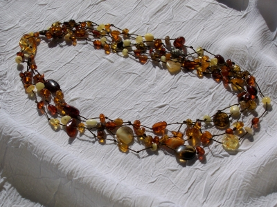 Amber Necklace ANECK13